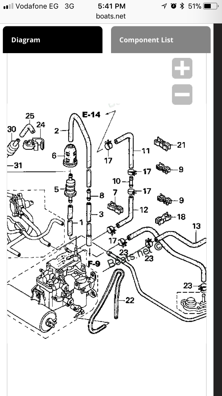 You can also go to boats.net for Honda Outboard spare parts and it gives  you exploded diagrams.