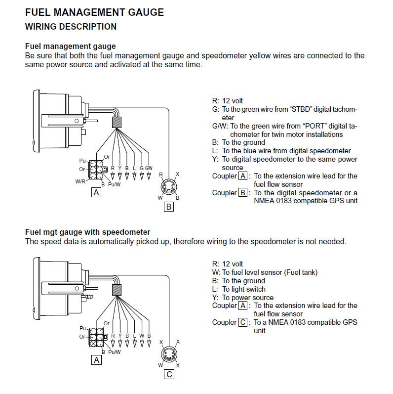 Yamaha Fuel Management Gauge The Hull Truth Boating And Fishing Forum