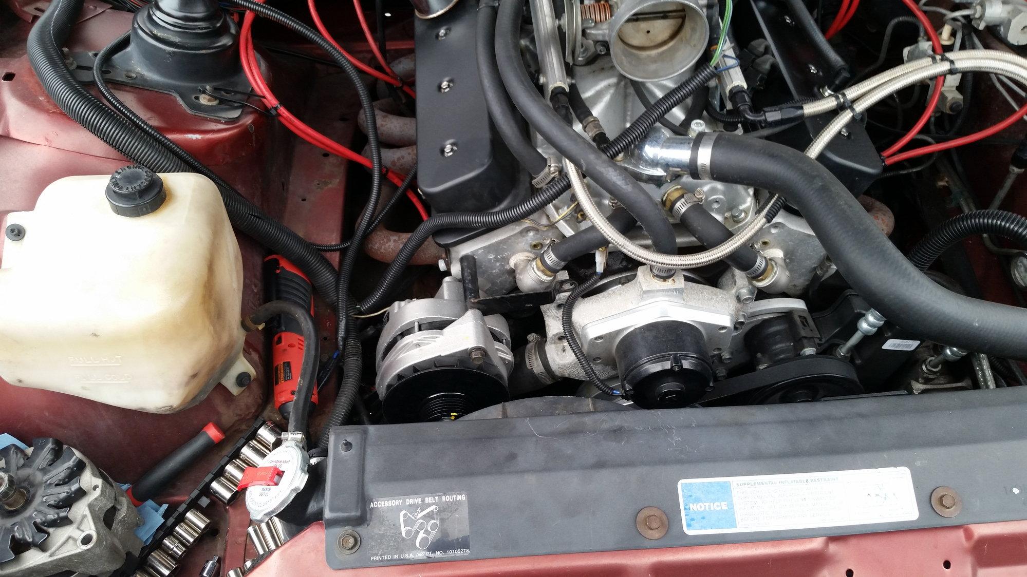 85 Trans Am Radiator Upgrade - Third Generation F-Body