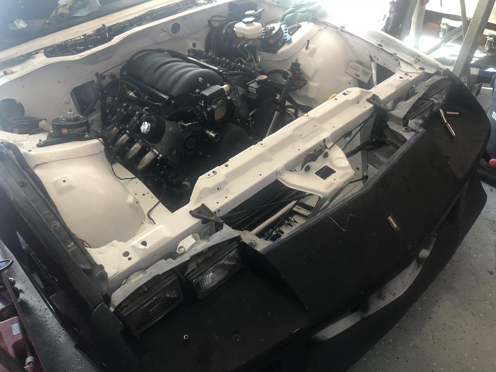 1991 RS LS Swap Project Car