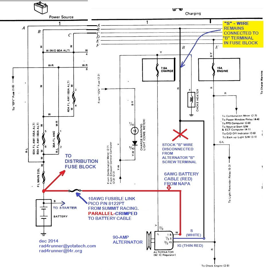 Gm alt conversion not charging.. Any info is appreciated ... Pico Wiring Diagram Of A Ups System on