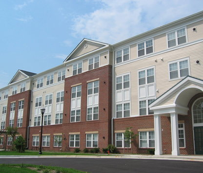 Attirant Image Of St. Paul Senior Living Apartments In Capitol Heights, MD