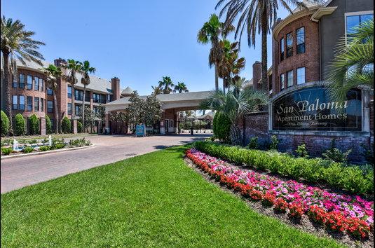 Image Of San Paloma Apartments In Houston, TX