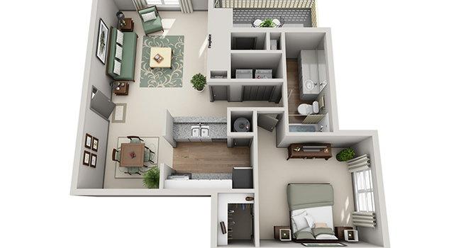 Crosstown at Chapel Hill - 156 Reviews | Chapel Hill, NC Apartments