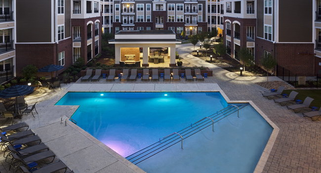 Saltwater pool and sundeck