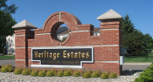 Image of The Heritage Estates in Clinton Township, MI
