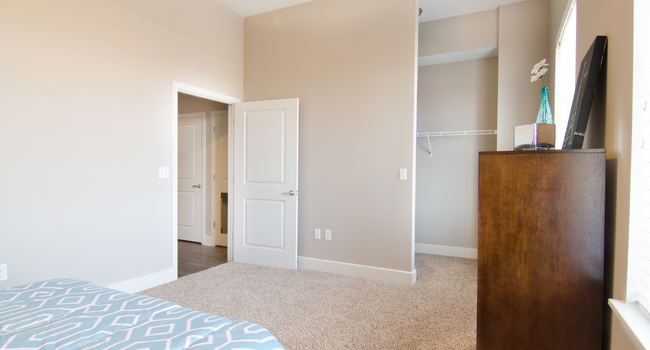 Model Bedroom with Closet