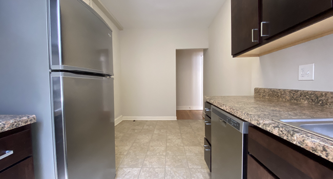 Beautiful kitchen with stainless steel appliances and dishwasher