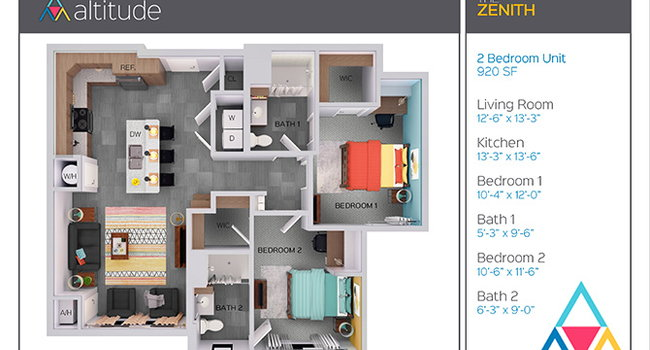 Admirable Altitude At Jmu Harrisonburg Va Apartments For Rent Download Free Architecture Designs Licukmadebymaigaardcom