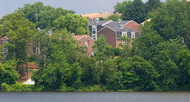 Our community overlooks beautiful Hardy Pond