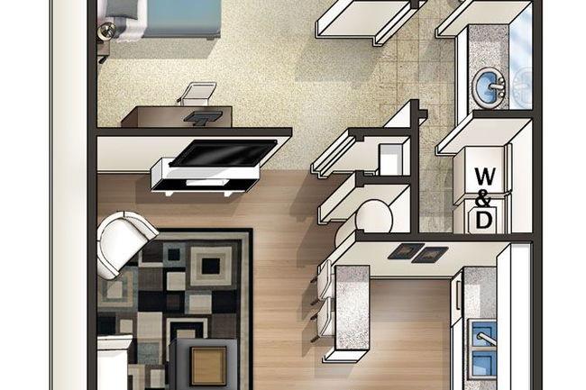 Perfect Floor Plan Photo Of Eagles West Apartments In Auburn, AL