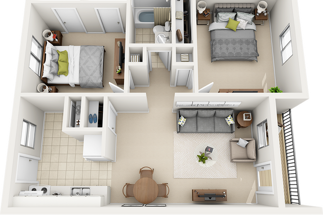 Frederick Gardens Apartments 36 Reviews Gainesville Fl
